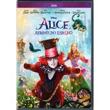 Alice Através Do Espelho - Dvd