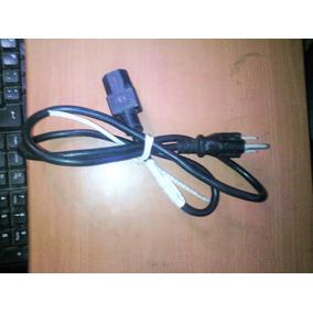 Cable Poder Ac Corriente Computadora Monitor 3 Pínes Pc