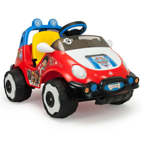 Coche Racing Paw Patrol Electrico System Montable Injusa
