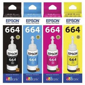 Refil De Tinta Epson 664 Original E Lacrado