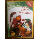 Elmo Salva La Navidad Dvd Plaza Sesamo