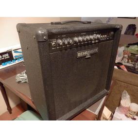 Amplificador Guitarra Behringer Gtx60 Efectos/pedal/afinador