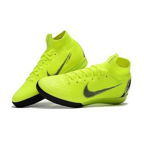 Chuteira Nike Mercurial Verde Limao Adultos Futsal - Chuteiras no ... 8f5171c0c95c0