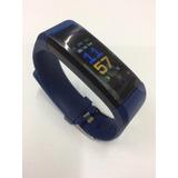 Relógio Smartband Inteligente Passos Pressão Arterial Kcal