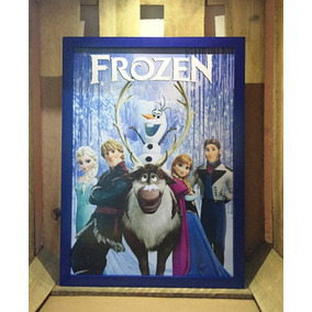 Poster Frozen Disney Quadro Decorativo Infantil