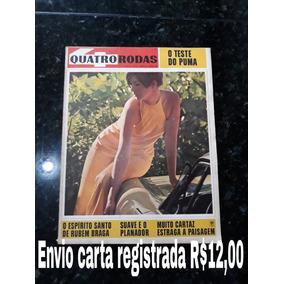 Revista Quatro Rodas 83 Junho 1967 Puma Galaxie