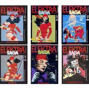 Elektra Saga (completa Seis Edições)