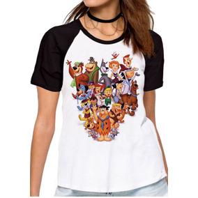 Blusa Feminina Baby Look Hanna Barbera Personagens Desenho b8640369ad9ee