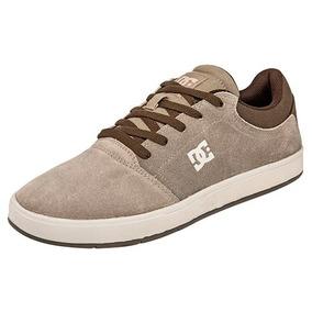 Tenis Sneaker Dc Shoes Hombres Crisis Skate Beige Dtt 80298