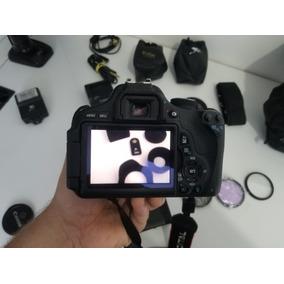 Camera Canon T3i Pouco Uso