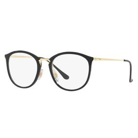 Oculos Rayban Grau Redondo De - Óculos Preto no Mercado Livre Brasil 69ec6e9457