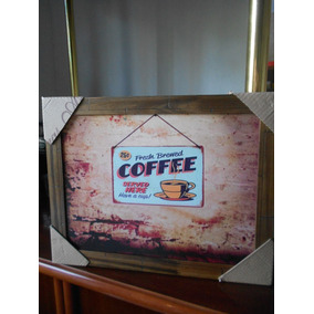 Poster Emoldurado - Coffee Vintage - Frete Grátis