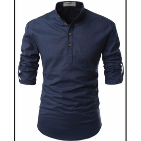 Camisa Nearkin Color Navy Talla M