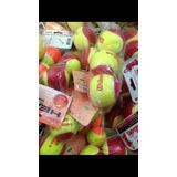 Pelotas De Tenis Rojas, Naranja Y Verdes