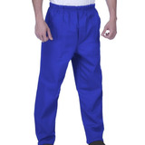 Kit 05 Calças Profissionais Azul Brim Pesado
