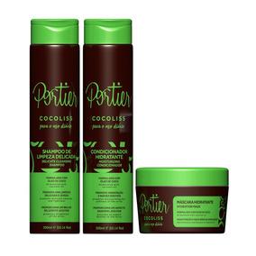 Portier Cocoliss Uso Diário - Kit Completo (3 Produtos)