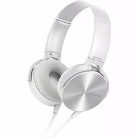 Fone Sony Mdr-xb450ap Head Phone Extra Bass P2 Com Microfone