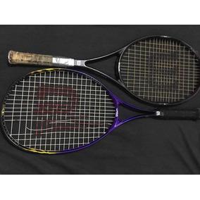 2 Raquetes De Tênis Wilson Pro Staff 95 E Grand Slam 110