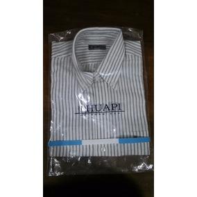 5b68aaad1ff Camisa Color Salmon Hombre - Camisas Manga Corta de Hombre Blanco en ...