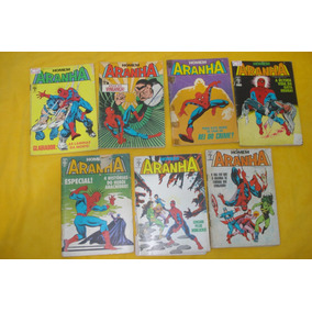 Homem Aranha Lote 3 Gibis Lista Abril