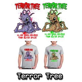 Camiseta Arbol Embrujado (alien Tree) (envio Gratis) a71051e929356
