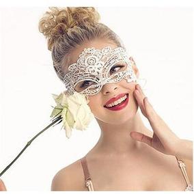 Antifaz Encaje Disfraz Sexy Mascara Mujer Cara Fiesta Ee2