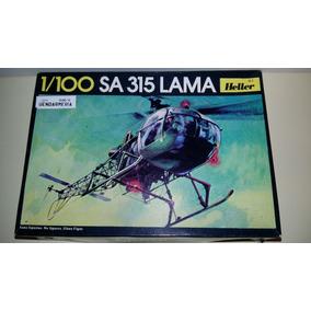 A Heller Helicoptero Sa 315 Lama Modelo 1/100 Gendarmeria
