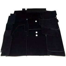 Forração Fusca Luxo Carpete Preto P/ Assoalho - Padrão Vw