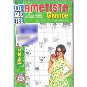Revista Coquetel 3 Em 1 Ametista Grande Nº 155 Médio Cruzada