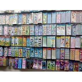 Adesivos Stickers Kit 360 Cartelas Variadas