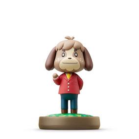Figura Amiibo Digby Serie Animal Crossing Nintendo Wii U