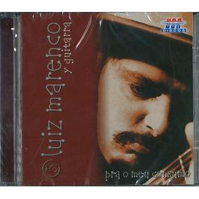 Cd Luiz Marenco Y Guitarra Pra O Meu Consumo