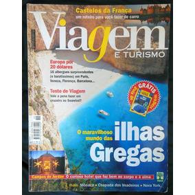 Revista Viagem E Turismo 46 Ilhas Gregas Mônaco - Ago 1999