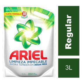 Jabón Líquido Para Ropa Ariel 3 L Doypack