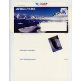 Filatelia Chilena, Aerogramas De Chile, Témpanos, Antártica.