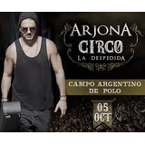 Entradas Ricardo Arjona Platino Cde Primeras Filas