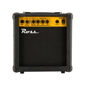 Amplificador Para Guitarra Ross G-15 Con Distorsion 15 Watts