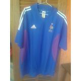 f3fd52dd18e94 Camisa Franca adidas Copa 2002 Coreia Japao Dupla Camada