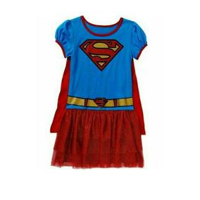 Disfraz De Supergirl Importado De Usa