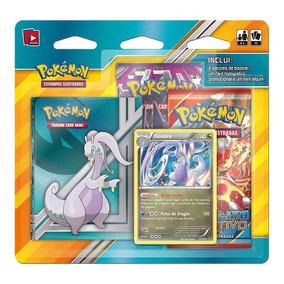 Pokémon Tcg Mini Álbum Pack - Goodra Com 2 Pacotes Original