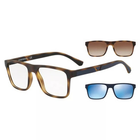 0a41b197a06fe Armacao Oculos Emporio Armani Tartaruga - Óculos no Mercado Livre Brasil