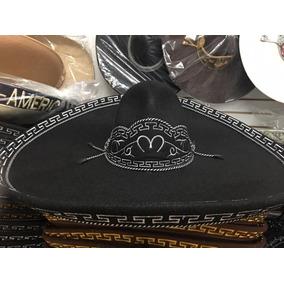 Sombrero Charro Negro Blanco Beige Fino Escaramuza Tallas 48b1f482dd2c