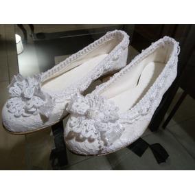 7b78040c Zapatos Mujer Fiesta - Chatitas de Mujer Blanco en Mercado Libre ...