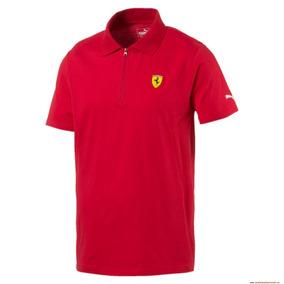 Playera Ferrari Sf Polo 2 Rosso Corsa 762143-01 Rojo
