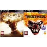 Twisted Metal + God Of War Ascension ~ Ps3 Digital Español