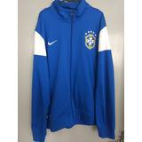 0de23ecde1 Agasalho Da Seleção Brasileira Nike Lindo no Mercado Livre Brasil