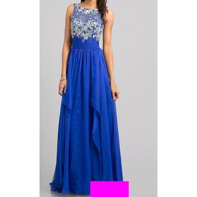 e9c3a87ab8 Vestido Xv Años Azul Marino Vestidos De Noche - Vestidos Azul en ...