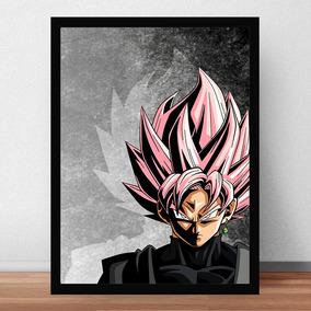 Quadro Poster Dragon Ball Goku Black