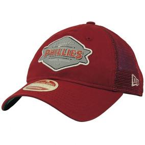Boné New Era Aba Curva Philadelphia Phillies Trucker 9twenty 9ee4ff87cee