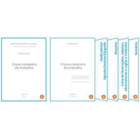 Formatação Nas Normas Abnt Monografia Tcc Emergencial